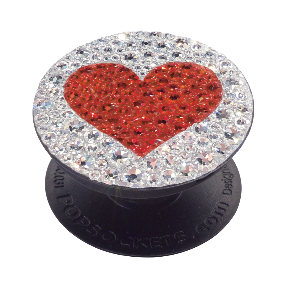 Swarovski Red Heart, PopSockets