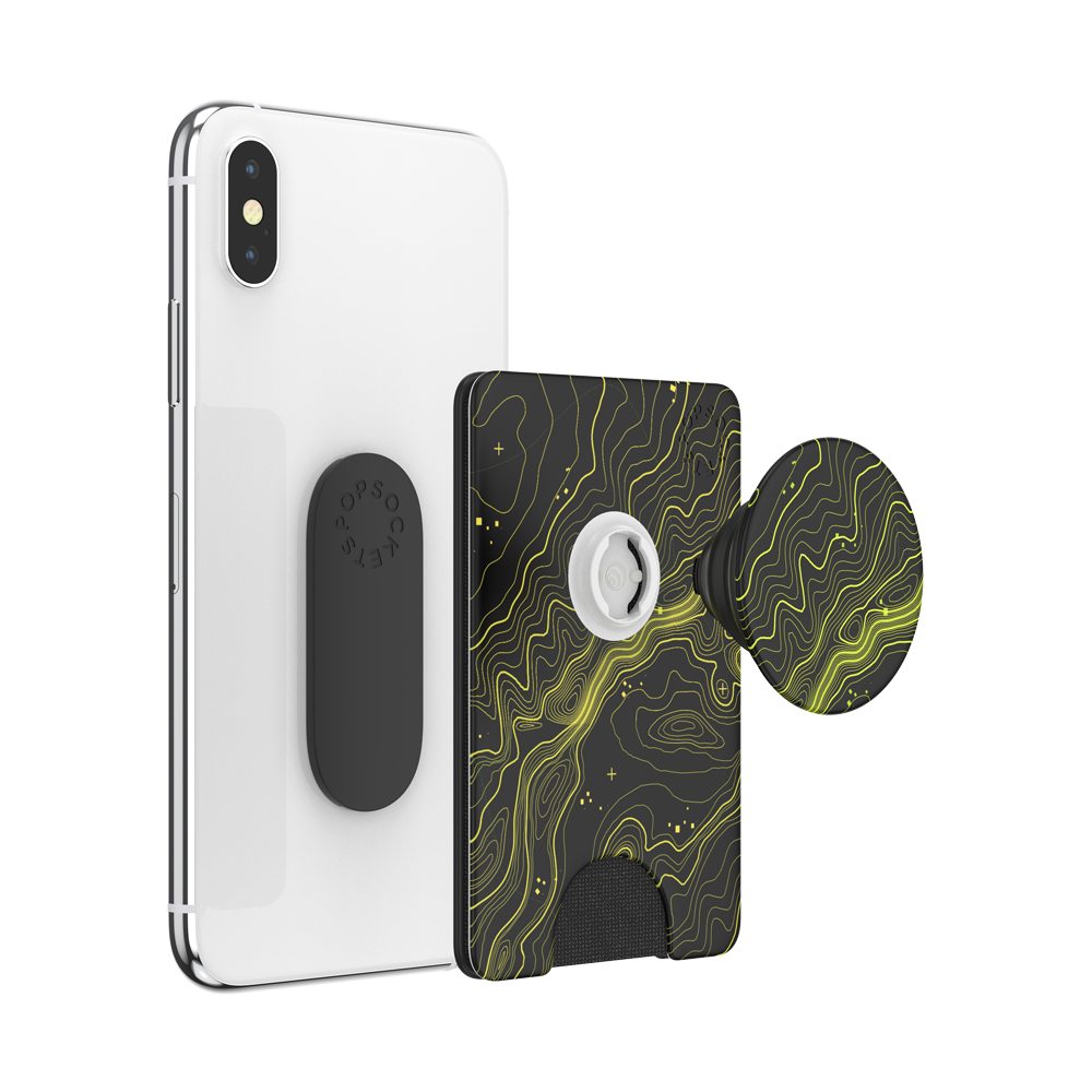 PopWallet+ Topographical, PopSockets