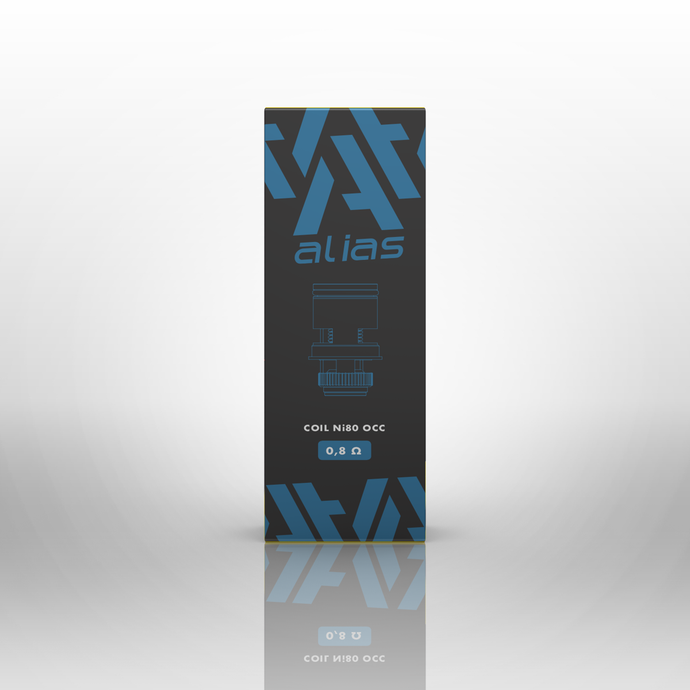 Alias NOLEAK Coils 0.8ohm (Pack of 5)