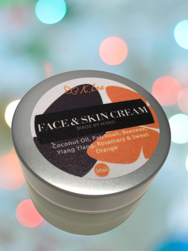 Sweet Orange Oil Face & Skin Cream 50ml (*Free shipping)