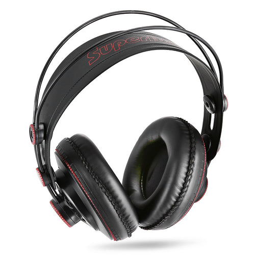 Superlux HD681 3.5mm Jack Wired Super Bass Dynamic Headphones with Adjustable Headband 9ft Cable Noise Cancelling
