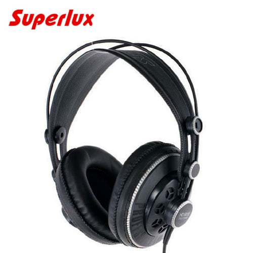 100% original Superlux HD681B DJ headphones Semi-open Dynamic Stereo Professional Monitoring Earphone Studio Headset