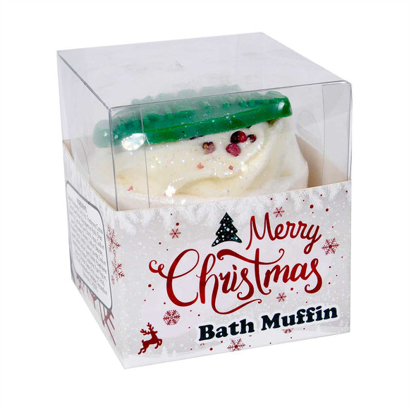Merry Christmas Bath Muffin