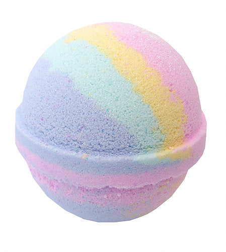 Handmade Rainbow Bath Bombs made in the UK