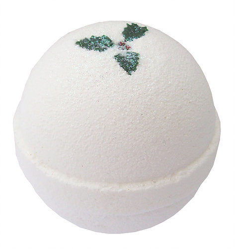 White Christmas Bath Bomb