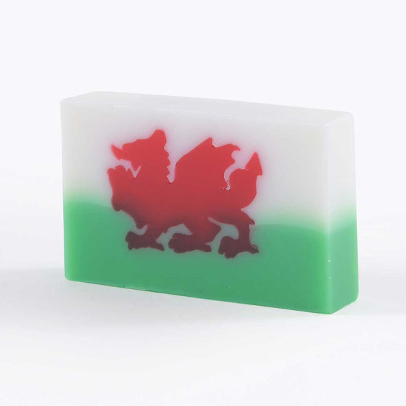 Welsh Dragon Soap Slice