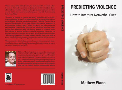 Predicting Violence by Mathew Wann - Kinetic Fighting