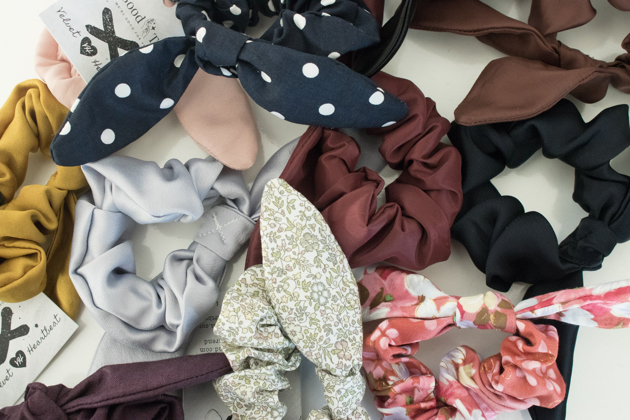 Hair Bow Scrunchie - thegoodtrend