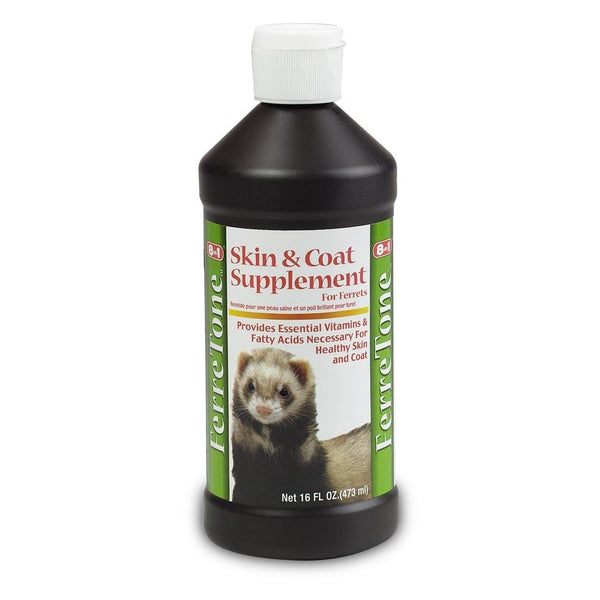 8 in 1 FerreTone Skin & Coat Supplement 16oz-Small Pet-8 in 1-PetPhenom
