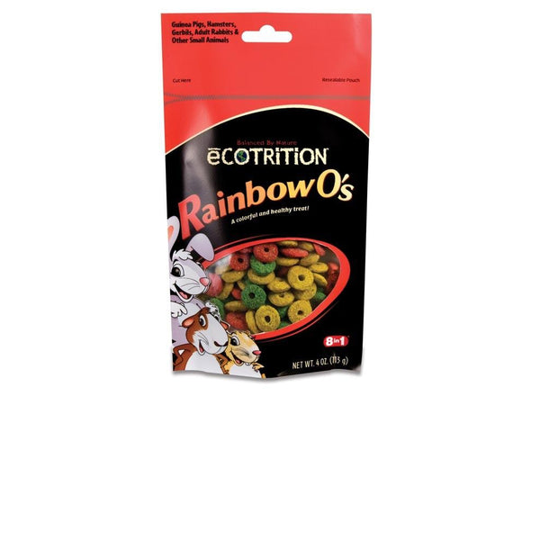 8 in 1 Ecotrition Rainbow O's 4oz-Small Pet-8 in 1-PetPhenom