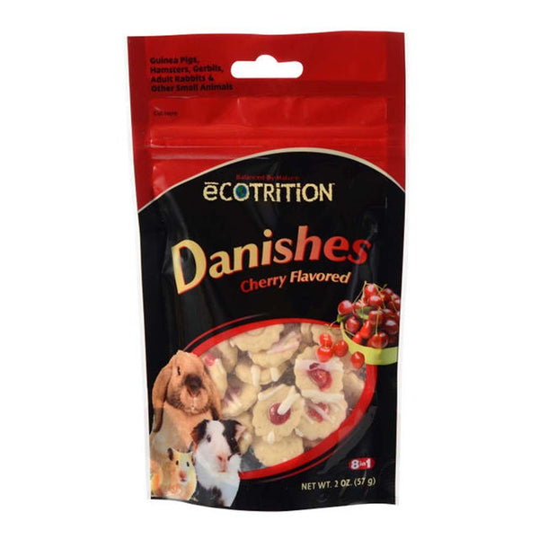 8 in1 eCOTRITION Danishes Cherry Flavor-Small Pet-8 in 1-PetPhenom