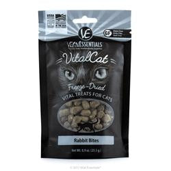 Vital Essentials Freeze-Dried Vital Treats - Rabbit Bites 0.9oz-Cat-Vital Essentials-PetPhenom