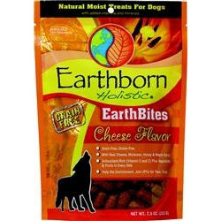 Earthborn EarthBites Cheese Flavor Treats 7.5oz-Dog-Earthborn-PetPhenom