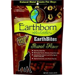 Earthborn EarthBite Peanut Flavor Treats 7.5ozRecipe 7.2oz-Dog-Earthborn-PetPhenom
