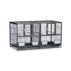 Prevue Pet Products Hampton Deluxe Divided Flight Breeding Cage System-Bird-Prevue-PetPhenom
