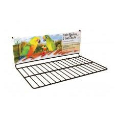 Prevue Pet Products Wire Patio Sundeck Black Large-Bird-Prevue-PetPhenom