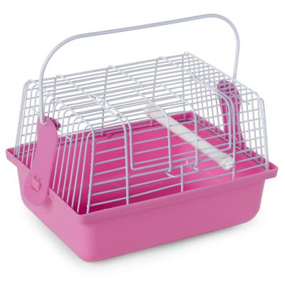 Prevue Pet Products Travel Cage Pink-Bird-Prevue Pet Products-PetPhenom
