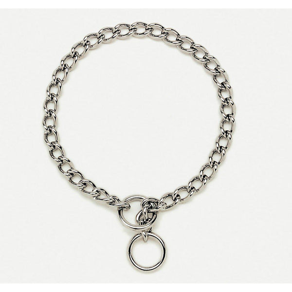 Coastal Pet Products Titan Training Chain Collar 4.0mm Silver