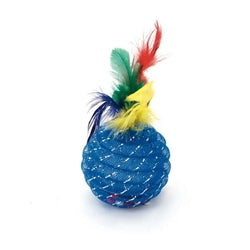 "Coastal Cat Toys (24Pc) 4.5"" Pineapple Feather-Cat-Coastal-PetPhenom"