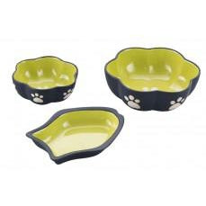 Spot Vienna Fishy Dish 7inCat Green-Cat-Ethical Pet Products-PetPhenom