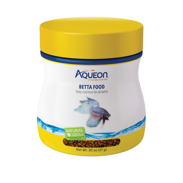 Aqueon Betta Fish Food 0.95 ounces-Fish-Aqueon-PetPhenom
