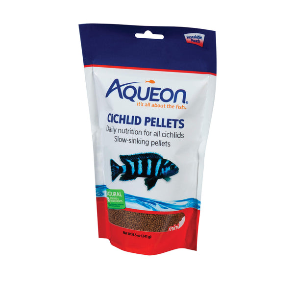 Aqueon Cichlid Fish Food 8.5 ounces-Fish-Aqueon-PetPhenom