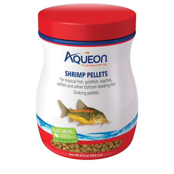 Aqueon Bottom Feeder Fish Shrimp Pellets 6.5 ounces-Fish-Aqueon-PetPhenom