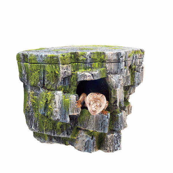 "Zilla Aquariam Décor Vertical Rock Cave 8.75"" x 5.875"" x 7.25""-Small Pet-Zilla-PetPhenom"