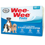 "Four Paws Wee-Wee Pads 100 pack box White 22"" x 23"" x 0.1""-Dog-Four Paws-PetPhenom"