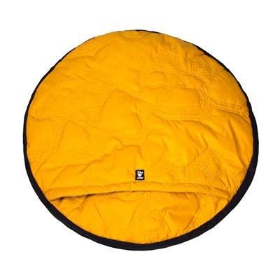Hurtta Outback Dreamer Sleeping Bag, Orange Sun -Medium-Dog-Hurtta-PetPhenom