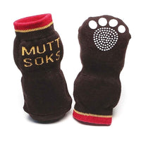 Muttluks Muttsoks Black 4 pk -X Small-Dog-Muttluks-PetPhenom