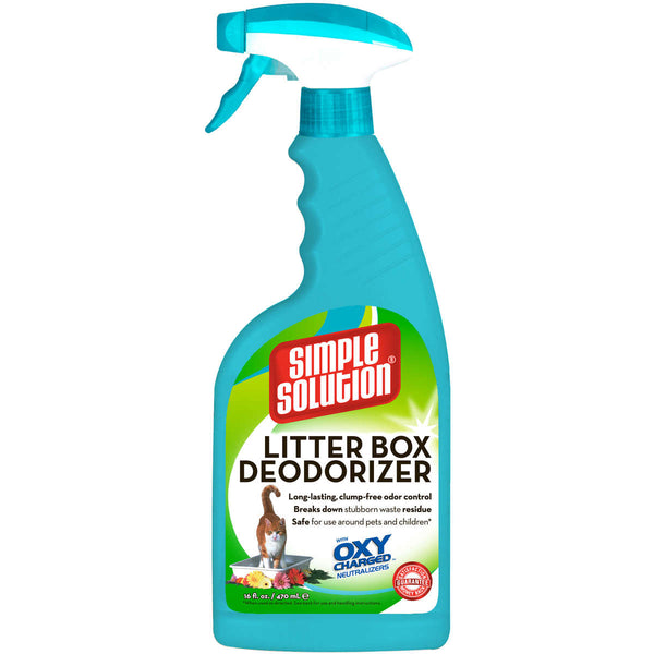 "Simple Solution Cat Litter Box Deodorizer 16oz 1.75"" x 4.5"" x 11""-Cat-Simple Solution-PetPhenom"