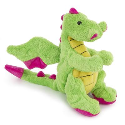 GoDog™ Toys Small Dragons with Chew Guard™ Technology - Bright Green-Dog-GoDog™ Toys-PetPhenom