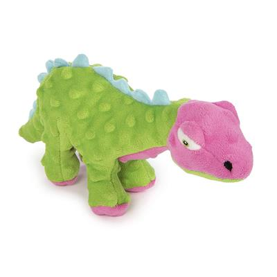 GoDog™ Toys Small Dinos Spike with Chew Guard™ Technology - Green & Pink-Dog-GoDog™ Toys-PetPhenom