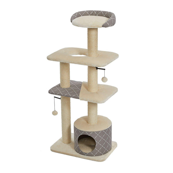 "Midwest Feline Nuvo Tower Car Furniture Mushroom 22"" x 15"" x 50.5""-Cat-Midwest-PetPhenom"