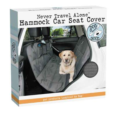 Dog Is Good Never Travel Alone Car St Cover, Gray-Dog-Dog is Good-PetPhenom