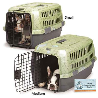 Dog is Good® Dog is Good Never Travel Alone Crate -Medium-Dog-Dog is Good-PetPhenom