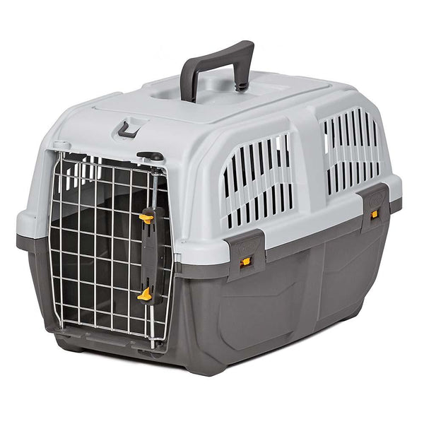 "Midwest Skudo Pet Travel Carrier Gray 18.75"" x 12.75"" x 12.75""-Dog-Midwest-PetPhenom"