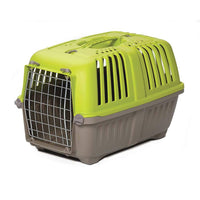 "Midwest Spree Plastic Pet Carrier Green 18.875"" x 12.75"" x 12.75""-Dog-Midwest-PetPhenom"
