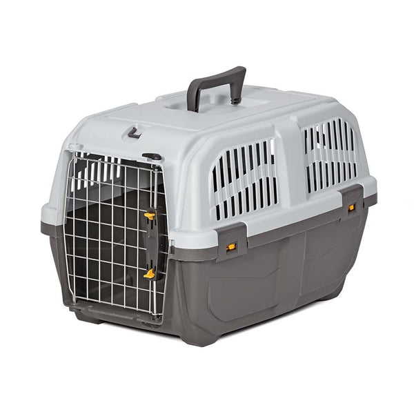 "Midwest Skudo Pet Travel Carrier Gray 21.5"" x 14"" x 13.75""-Dog-Midwest-PetPhenom"