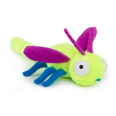 GoDog™ Toys goDog - Bugs Lime Dragon Fly with Chew Guard -Large-Dog-GoDog™ Toys-PetPhenom