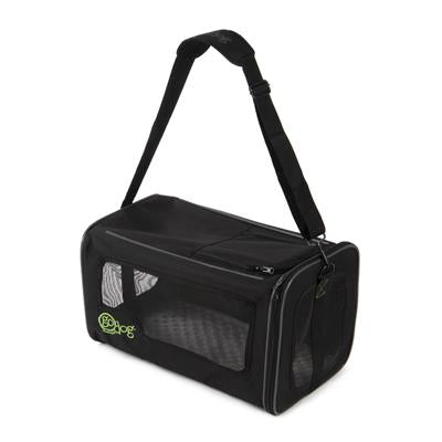 GoDog™ Toys goDog - Airline Approved Pet Carrier Black Large-Dog-GoDog™ Toys-PetPhenom
