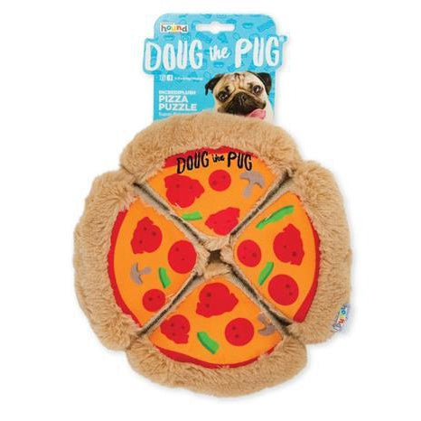 Doug the Pug Doug the Pug - Incrediplush Pizza Puzzle Toy-Dog-Doug the Pug-PetPhenom