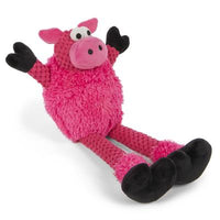GoDog™ Toys Checkers Skinny Pig by GoDog -Mini-Dog-GoDog™ Toys-PetPhenom