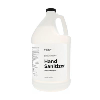 PetEdge Brands (other) Poet Hand Sanitizer Topical Solution Gallon, 80% Alcohol-Dog-Boss Pet/PetEdge-PetPhenom