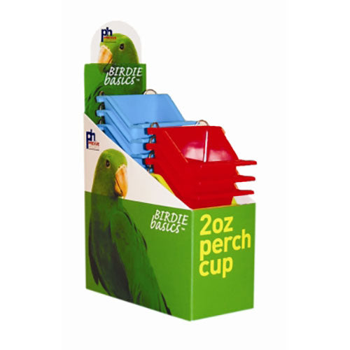 Prevue Pet Products Perch Cup 12ea/2oz-Bird-Prevue-PetPhenom