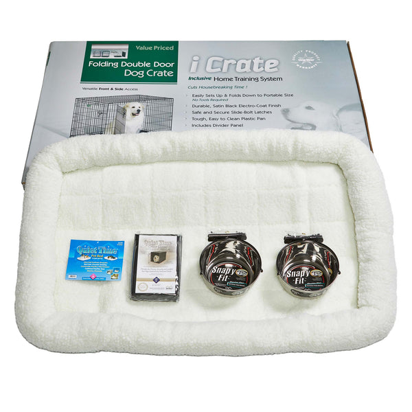 "Midwest iCrate Dog Crate Kit Extra Extra Large 48"" x 30"" x 33""-Dog-Midwest-PetPhenom"