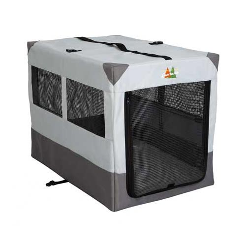 "Midwest Canine Camper Sportable Crate Gray 36"" x 25.50"" x 28""-Dog-Midwest-PetPhenom"