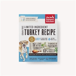 Honest Kitchen Dog LID Grain Free Turkey 10 Lbs. Box-Dog-Honest Kitchen-PetPhenom