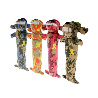 "MultiPet Support Our Troops Loofa Dog Toy -18"" (#MU48621)-Dog-MultiPet-PetPhenom"